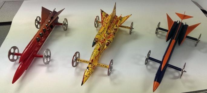 Модели ракетных автомобилей