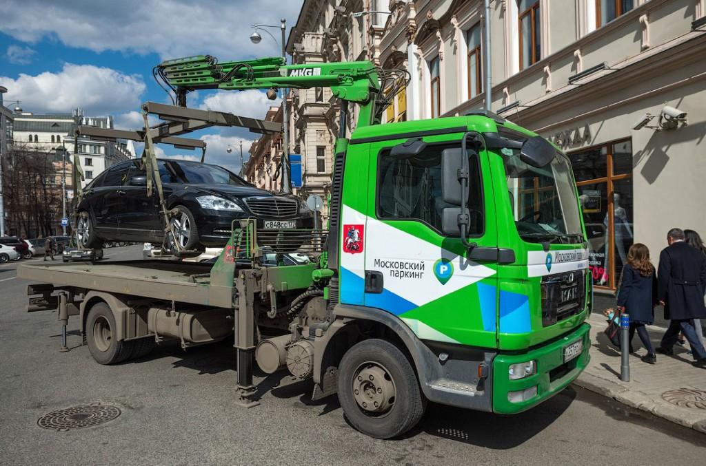 Московские эвакуаторы