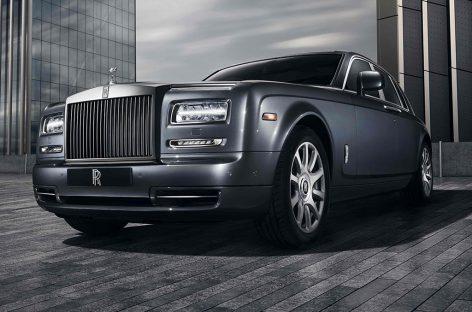 Rolls-Royce выпустил лимитированную серию Phantom Metropolitan Collection