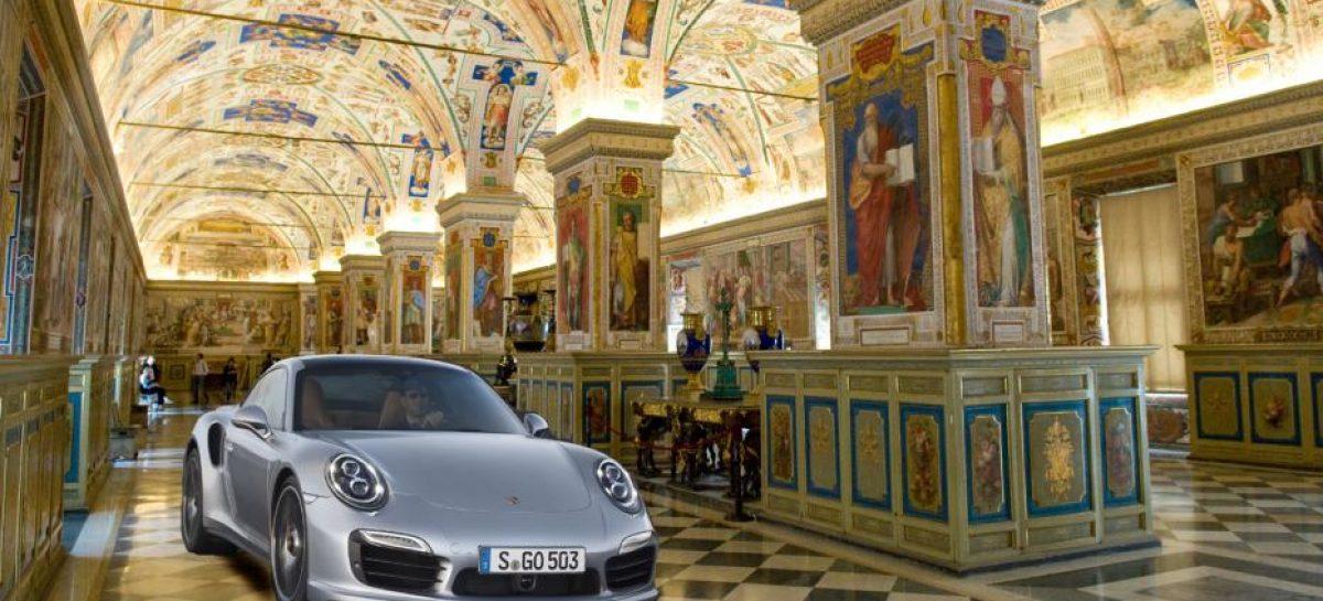 Porsche арендовал Сикстинскую капеллу