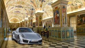 Porsche арендует Сикстинскую капеллу