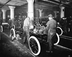 Производственная линия Ford T