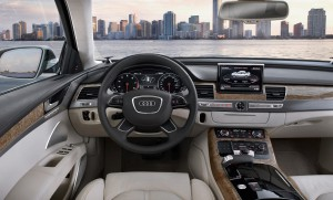 Салон автомобиля Audi