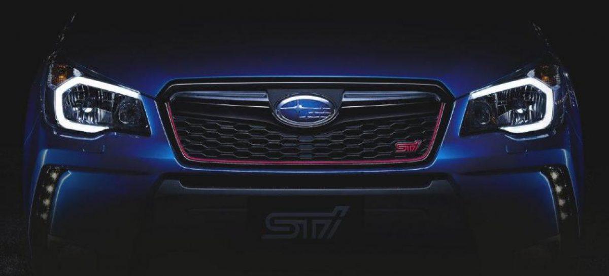 Серийная версия Subaru Forester STI дебютирует уже 25 ноября