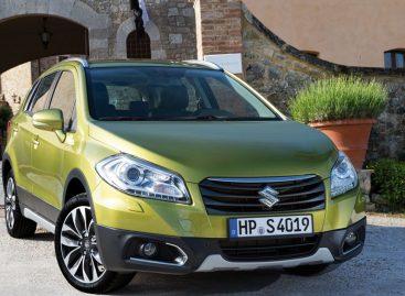 Suzuki SX4 опубликовал информацию об обновлениях S-Cross