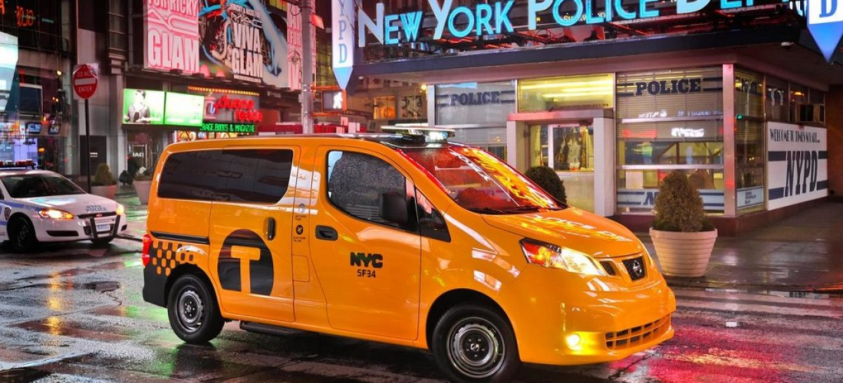 Nissan NV200 выбран в качестве такси в Нью-Йорке и Лондоне