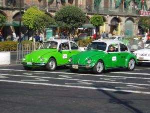 Такси в Мехико Volkswagen Kafer