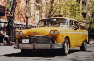 Такси в Нью-Йорке Checker