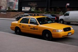 Такси в Нью-Йорке Ford Crown Victoria
