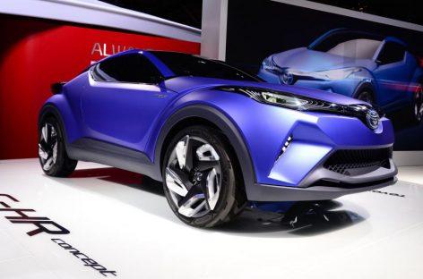 Toyota готовит к запуску серийную версию концепта C-HR