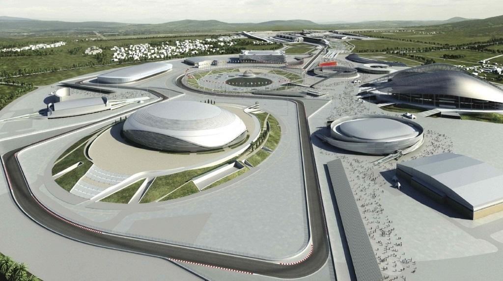 Трасса для Гран-при России Формула 1