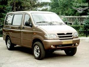 УАЗ 3165 Симба, прототип 1999 года