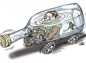 Минюст предлагает ввести конфискацию автомобилей за езду в пьяном виде