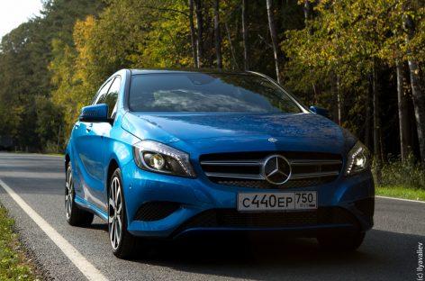 Примеряем Mercedes-Benz A class
