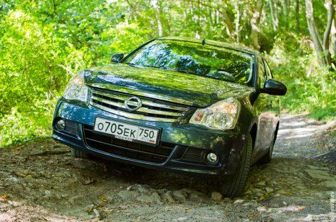 Тест-драйв Nissan Almera в городе Сочи