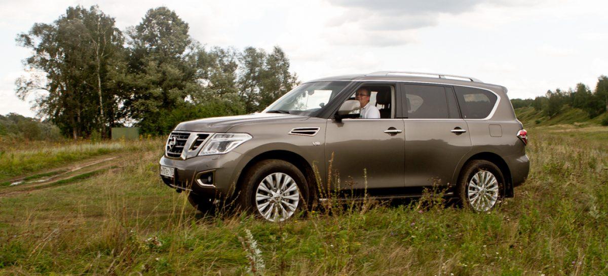 Тест-драйв Nissan Patrol: внедорожник в смокинге