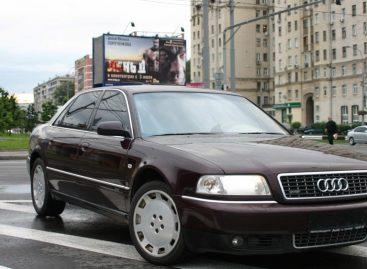 Солидный автомобиль – рефлекс полицейского