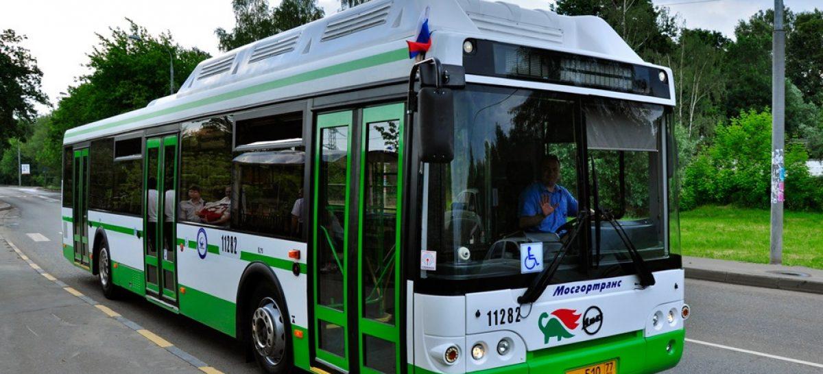 Общественным транспортом в Москве пользуется 82% населения