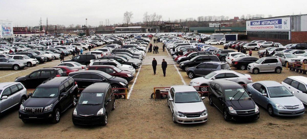 Рынок автомобилей с пробегом падает второй месяц подряд