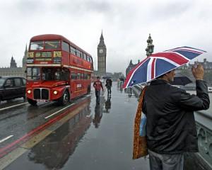 Дорожное движение в Лондоне