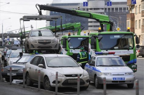 На месте эвакуированных автомобилей будут оставлять метки с информацией, где их найти
