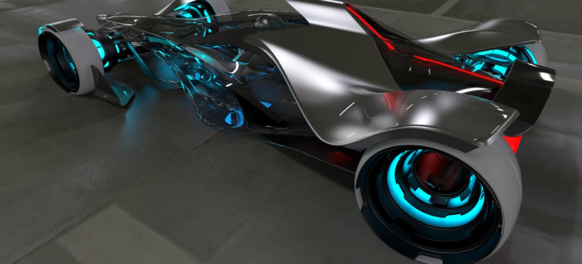 Infiniti создала летающий концепт с функцией биоуправления
