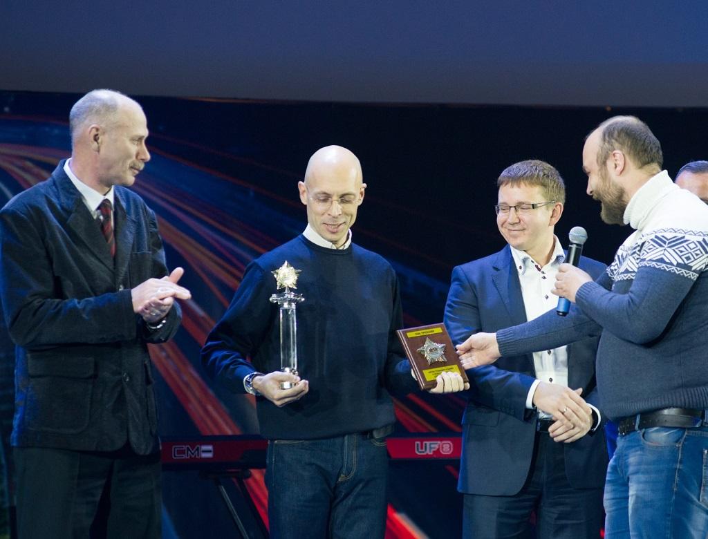 Лауреат премии в номинации Звезды безопасности журналист Сергей Асланян