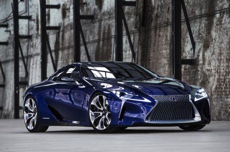 Концепт Lexus LF-LC станет серийным