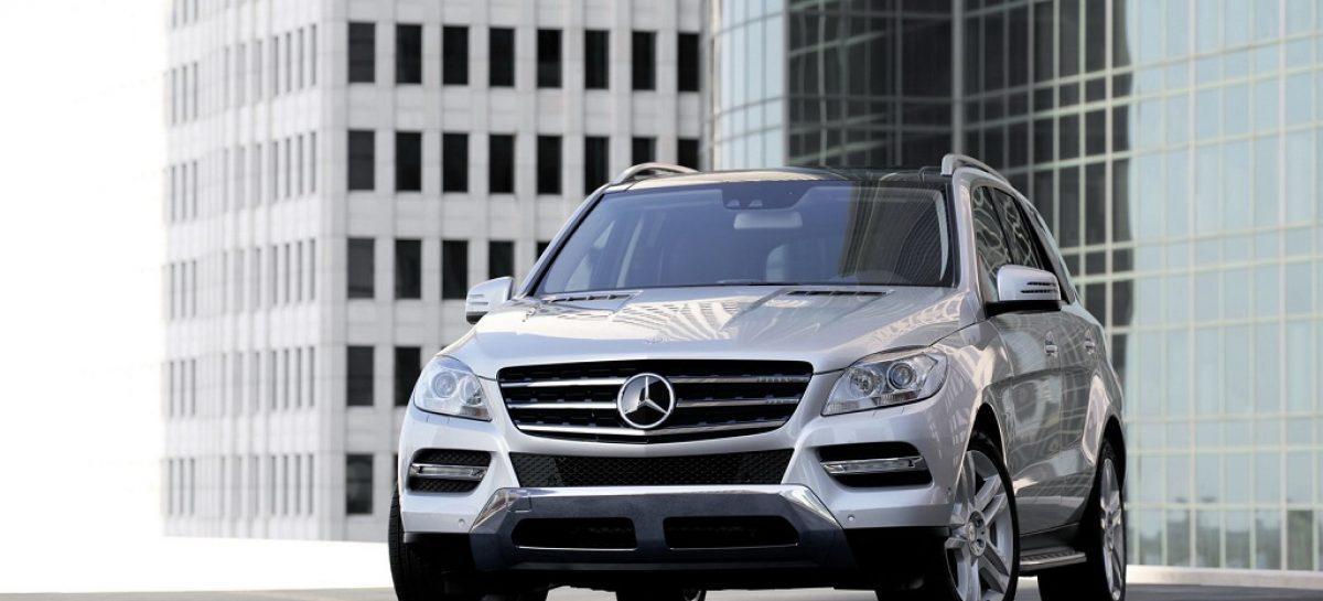 Mercedes-Benz отзовет в России внедорожники M-Class