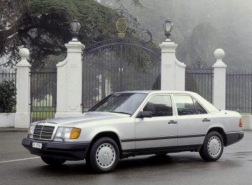Mercedes-Benz W124 – первый легальный Мерседес в России