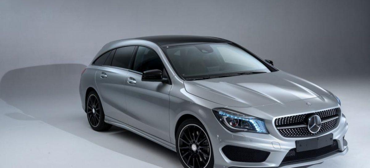 Более практичный и просторный Mercedes CLA Shooting Brake