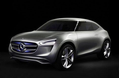 Концепткар Mercedes G-Code – красивая и умная машина будущего