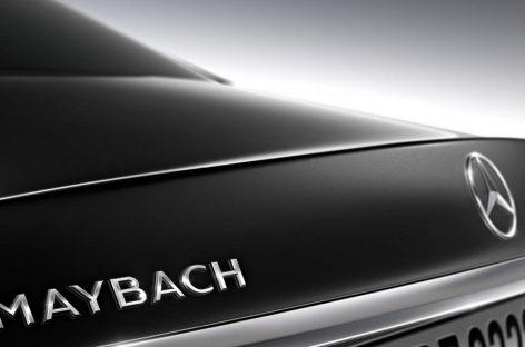 Maybach возродится с тремя седанами S-class