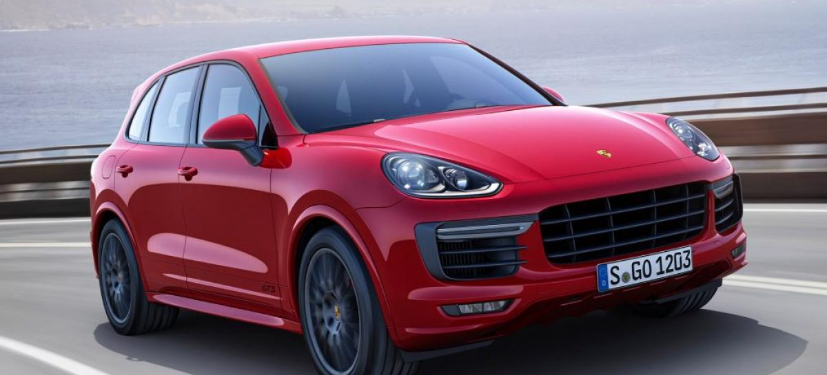 Porsche представил новый Cayenne GTS