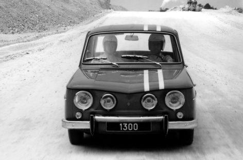 Выступление на гоночном Renault R8 Gordini было подвигом