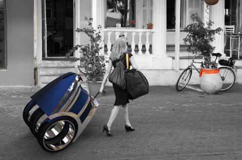 На Michelin Challenge Bibendum показали автомобиль-чемодан