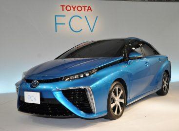 Водородная Toyota получила название Mirai