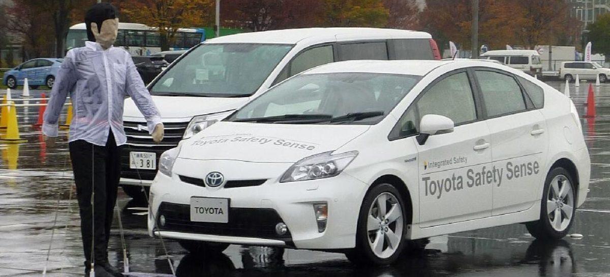 Toyota опубликовала информацию о новинках в системах безопасности на 2015 год