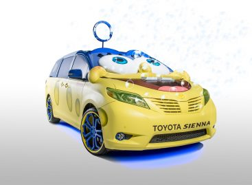 Toyota Sienna – автомобиль для Губки Боба