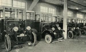 Завод АМО. Автобусы