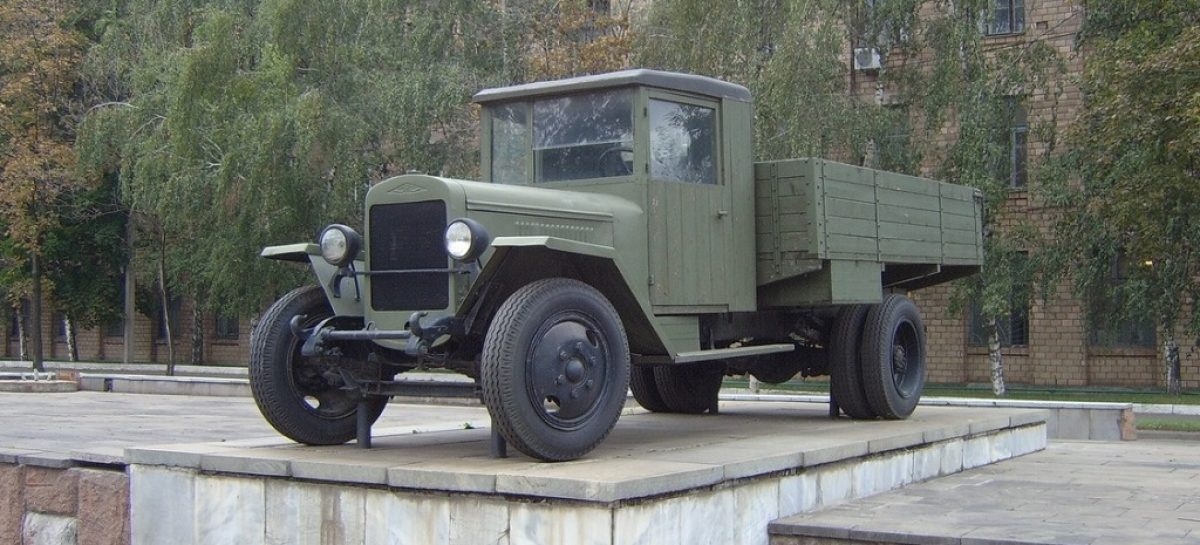 ЗиС-5В стал первым памятником фронтовым шоферам
