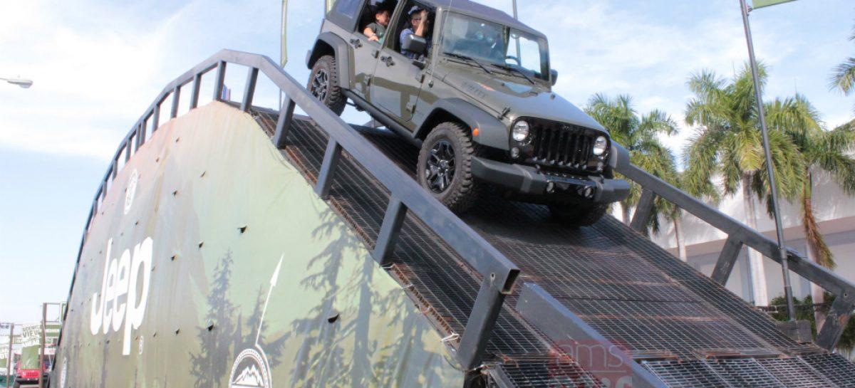Jeep пытается усидеть на двух стульях