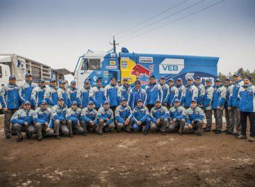 Машины команды КАМАЗ-мастер отправили на Дакар-2015