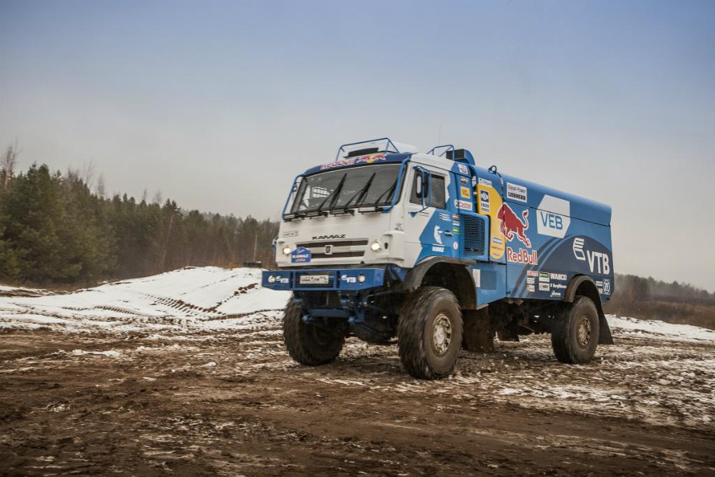 КАМАЗ-мастер отправляется на Дакар-2015