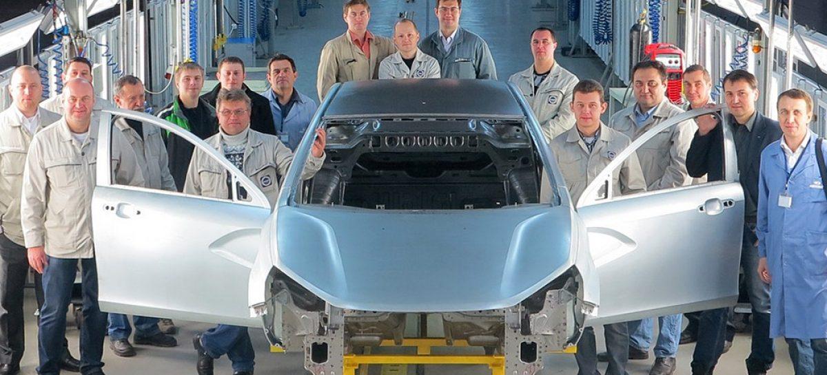 Началась тестовая сборка Lada Vesta