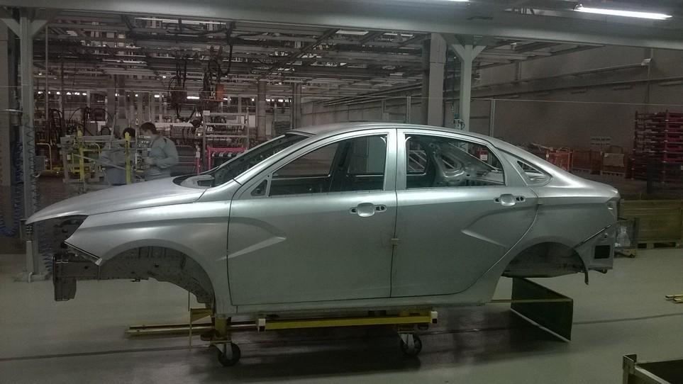 Lada Vesta первый кузов