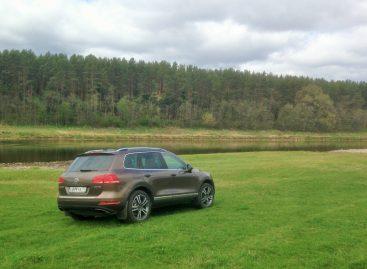 Тест-драйв Volkswagen Touareg: Настоящий бойскаут