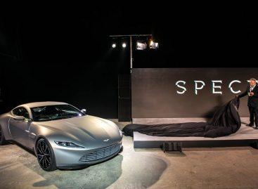 Агент 007 сядет за руль нового Aston Martin DB10