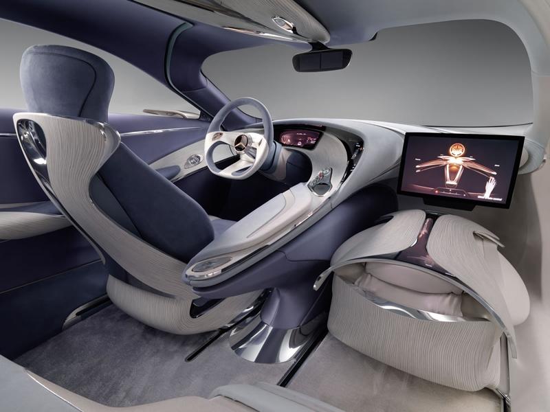 Автомобиль будущего Mercedes-Benz