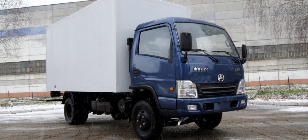 Экономичный газовый грузовичок от BAW-RUS с двигателем ЗМЗ 409
